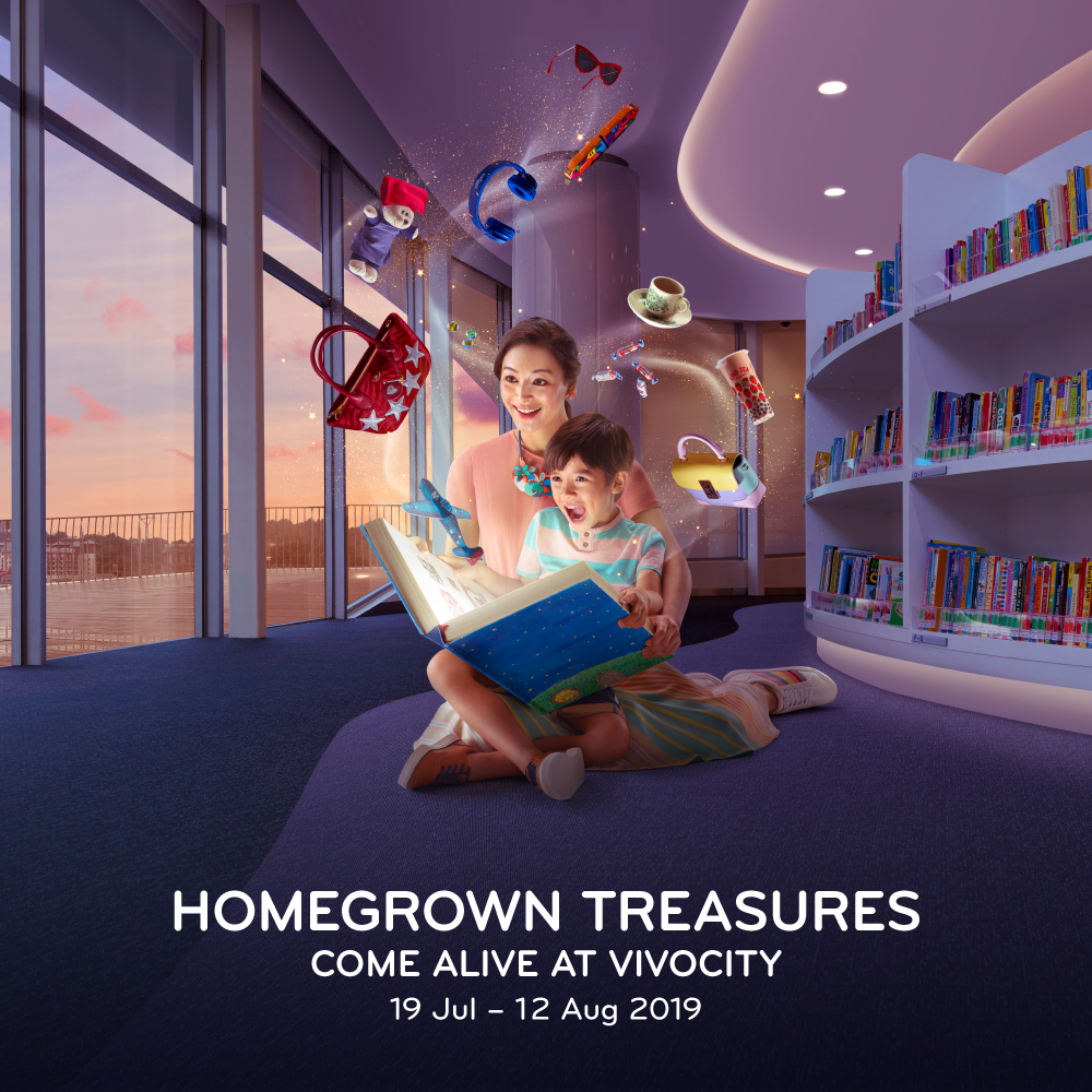 Homegrown Treasures Come Alive At VivoCity!